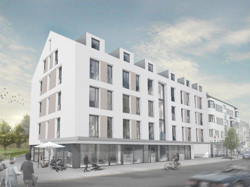 Neubau Wohn- und Geschäftshaus Neusäß